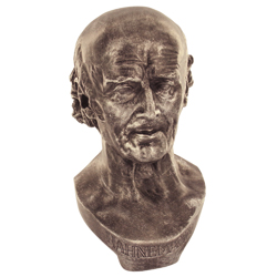 Busto Hahneman Bronzo-0