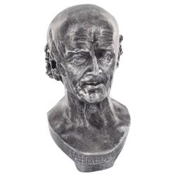 Busto Hahneman Argento-0